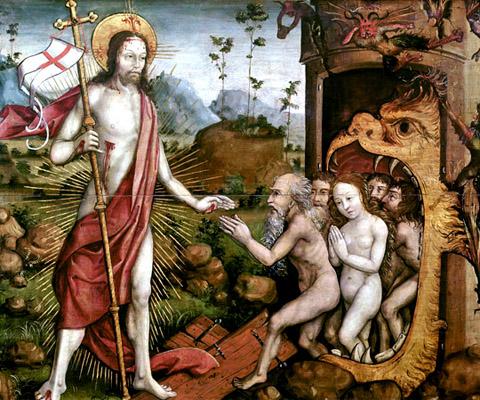 MÉDITATIONS POUR CHAQUE JOUR DE CARÊME par ST. THOMAS D'AQUIN, O.P.  - Page 2 Harrowing-of-hell